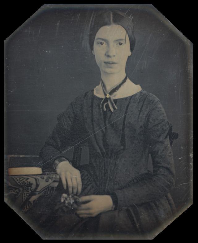 Эмили Дикинсон. Будущая поэтесса по неизвестным причинам покинула семинарию и вернулась в семью родителей, где прожила всю оставшуюся жизнь, редко покидая дом и гуляя неподалеку от него.